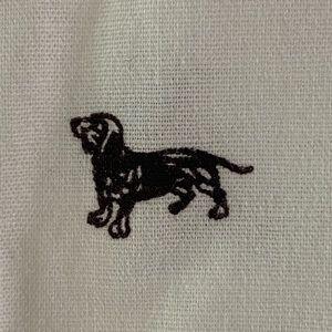 Dog doggie dachshund puppy Standard Fit Stretch